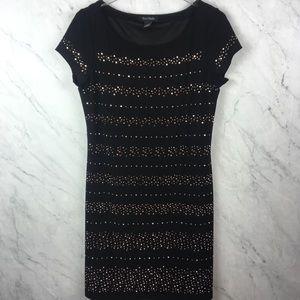 White House Black Market Black Dress, Size M